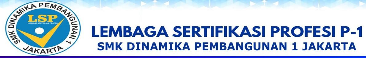 Lembaga Sertifikasi Propesi (LSP) P-1